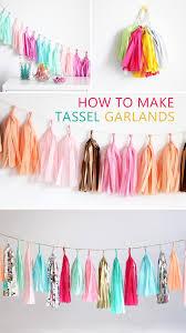 tassel garland instructions