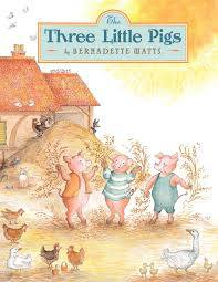 the three little pigs bernadette watts 9780735840584 amazon books