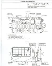 honda civic fuse box diagram honda wiring diagrams online