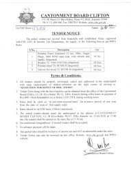Cantonment Board Clifton |