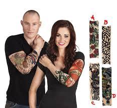 Barevné Tetování Návlek Na Ruku