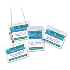 Avery Heavy Duty Secure Top Name Badge Holders At