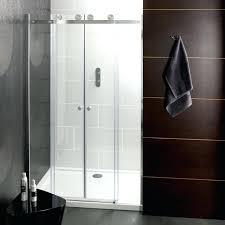 showers double sliding door shower enclosure glass doors o design home forget shorter showers ysis