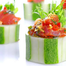 Oriental Tuna Tartare Cups Recipe on Food52