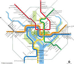 Dc Metro Cost Chart Navigating Washington Dcs Metro System Metro Map More