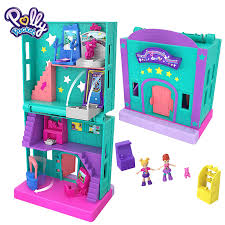 Original Polly Pocket Mini Polly Little Store Box Girls Car Toys World Mini  Scene Toy Girl Gift Doll House Accessories Juguetes Dolls  - AliExpress