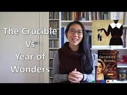 comparative essay the crucible vs year of wonders  comparative essay the crucible vs year of wonders
