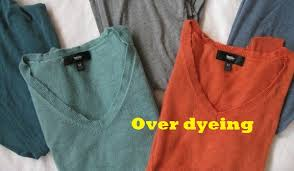 Tinting Over Dyeing Of Garments Tinting Past Times