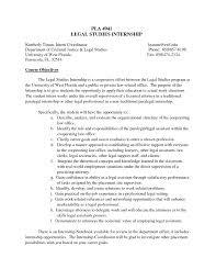 Objective In Resume For Internship. remarkable of internship ...