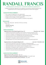 Get Nursing Resume Examples 2019 And Land Your Dream Job