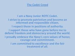 jrotc navy creed by silverforestdragons on  jrotc navy creed by silverforestdragons2