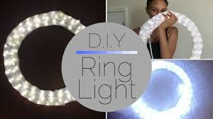 Led Ring Light Walmart How To Make A Ring Light Under 20 Diy Cleotalks