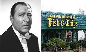 Today On The Tray Arthur Treachers Fish Chips