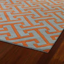 fresh orange and white rug or homey orange rug with white swirls area designs 55 orange