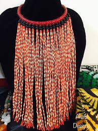 Akofa Designs Beaded Necklace