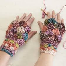 Dragon Scale Gloves Crochet Pattern Free