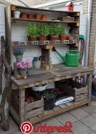 potting bench plans