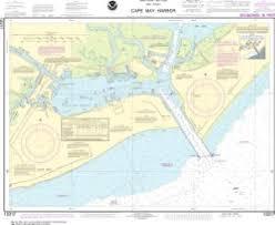 Tide Chart Cape May Nj Oceangrafix Noaa Nautical Chart 12317 Cape May Harbor