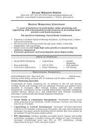 Digital Strategist Resume How To Write A Marketing Resume Hiring Managers Will Notice
