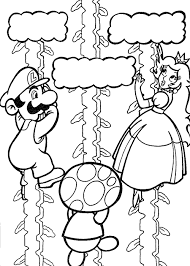 Small Picture Mario Coloring Pages to Print Coloring Pages To Print