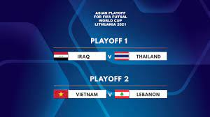 Asian Playoff matches for FIFA Futsal ...