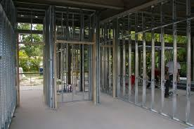 metal framing for light partition wall