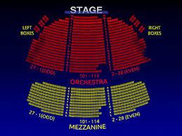 Broadhurst Theatre Group Broadway Seating Chart History