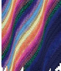 12 best Bargello Northern Lights Quilts images on Pinterest ... & Northern lights quilt idea - add in an actual land area (hills?) so Adamdwight.com