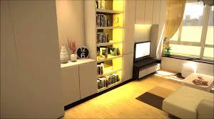 One Bedroom Decoration Amazing Interior Design For Custom One Bedroom House Interior