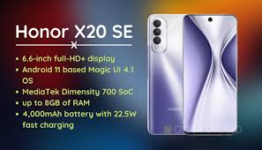 Honor X20 SE Launched with 64MP Triple ...
