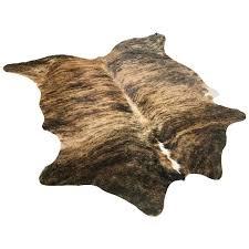 brindle brazilian cowhide rug