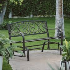 Bench Wrought Iron Loveseat Bench Wrought Irin Bench White Outdoor Wrought Iron Bench