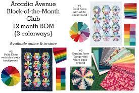 Arcadia Avenue Block of the Month &  Adamdwight.com