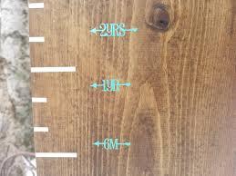 Pretty Little Heart Height Marking Arrows Growth Charts