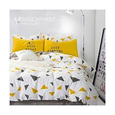 vougemarket 3 piece duvet cover set queen king duvet cover with 2 pillow shams hotel quality 100 cotton luxurious comfortable breathable