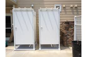 outdoor shower enclosures outside showers