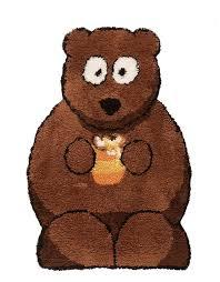 childrens nursery rug bear