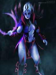 dota 2 vengeful spirit by glacyroserade on deviantart