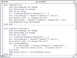 Copy Cells From The Activecell Row To A Database Sheet Using Vba In
