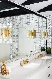 gold bamboo wall sconces on black full