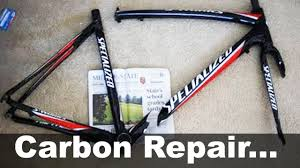 carbon fiber bike frame repair under 30 diy how to specialized s works tarmac you