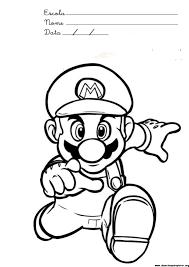 Mario Coloring Sheet