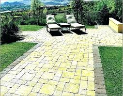cost of a brick patio cost of for patio of per square foot system cost cost of a brick patio