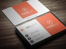 free template for business cards bright orange corporate business card template free download cp00022