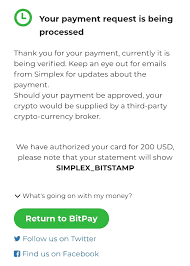 The first bitcoin exchange bitcoinmarket.com is no longer in existence; How Do I Buy Crypto Through Simplex Bitpay Support