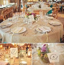 diy wedding decor woodsy a woodsy bohemian wedding brooke jason burlap tablecl on a midwinter nights
