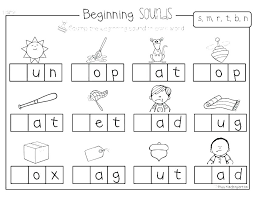 k and g sound worksheets