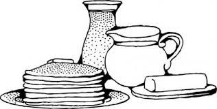 朝食がパンケーキ クリップ アート クリップ アート 無料のクリップ