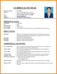 Samples Of Cv And Resumes Resume Examples Of How To Write Cv Resume Coloring You