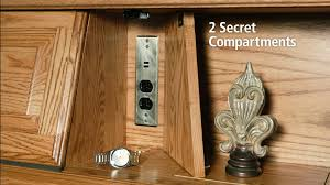 Secret Compartments in Bedroom Furniture by Furniture Traditions - YouTube